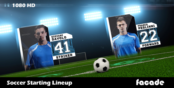 Soccer starting lineup after effects template huemanelement for Soccer starting lineup template