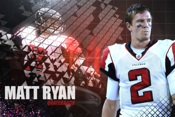 Atlanta Falcons Headshot Concept Styleframe