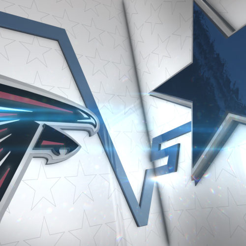 Dallas Cowboys Matchup Style Frame