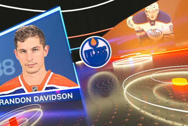 Edmonton Oilers Concept Headshot